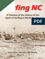 North Carolina Surfing NC Timeline 2nd Edition HAIRR WUNDERLY