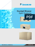 Daikin Ducted Blower TM FBHV 1114 B