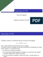Tleng 2015 c2 Clase p06a Automatas de Pila