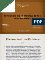 Proyecto Influencia de La Musica