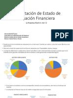 Proyecto de presentacion de estado financiero