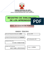 Primera Hoja Registro