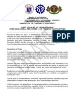 Finalized Draft 2017 - OER Policy in the Philippines (1)