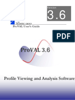 ProVAL 3.60 Users Guide