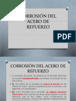 Corrosión Del Acero de Refuerzo