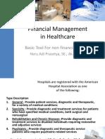 Pak Heru - Financial Management in Healthcare