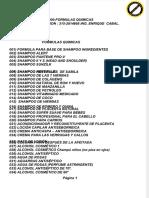 1000 Formulas Quimicas