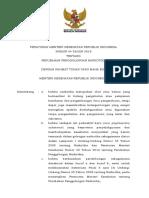 Peraturan Menteri Kesehatan Nomor 44 Tahun 2019 Tentang Perubahan Penggolongan Narkotika