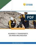 Acarreo y Trabsporte en Mineria Mecanizada - (EM)