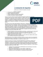 ES Impact Assessment Methods