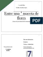 """Dossier de """"Entre una maceta de flores"""""""