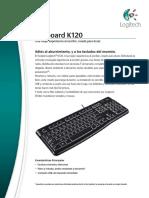 LOGITECH® KEYBOARD K120