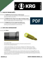 Sotic Rifle Manual