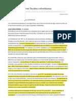 Nacion.com-De Frente Lecciones Fiscales Colombianas