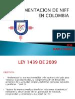Implementacion de Niff en Colombia Exp