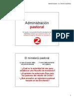 Administración Ministerial