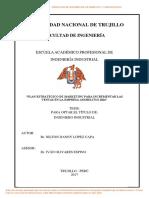 López Capa, n.plan Estratégico de Marketing Para Incrementar Las Ventas en La Empresa Anshelitus