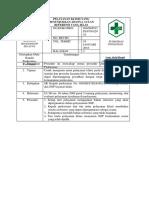 9.2.2.2 Sop Pelayanan Klinis Yang Menunjukkan Adanya Acuan Referensi Yang Jelas