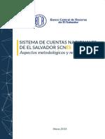 Sistema de Cuentas Nacionales 2018 BCR Documento Metodológico