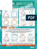 Polygons Reference Sheet