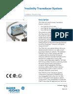 3300xl_8mm Proximity Transducer System Datasheet
