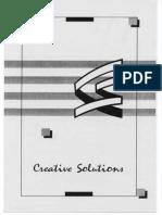 TNM Creative Solutions Brochure