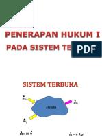 Bab 4 Penerapan Hukum i Pada Sistem Terbuka