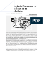 Antropología Del Consumo