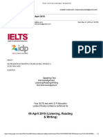 Idp Ielts Exam