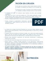 Nutricion e Hidratación y Equilibrio Acido Base en cirugía.pptx