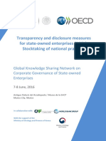 OECD 2016 SOEs Issues Paper Transparency and Disclosure Measures