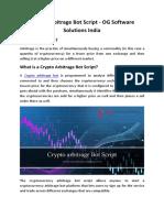 Crypto Arbitrage Bot Script-OG Software