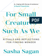 For Small Creatures Such as We by Sasha Sagan