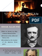 Ppt of the Cask of Amontillado