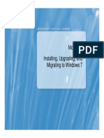 Installing, Upgrading, And Migrating to Windows 7