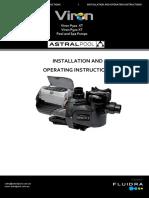 Pool Pump INST 434 Viron XT Product Instructions-3