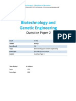 20.2 Biotechnology and Genetic Engineering Igcse Cie Biology Ext Theory Qp