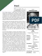 Vallabhbhai Patel - Wikipedia