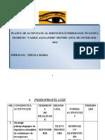 planul anual 2010 psihologie