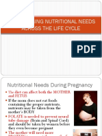 The Changing Nutritional Needs Across the Life Cycle