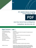 Mobile Money scoping