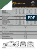 Opel Insignia Technical Leaflets 112014