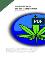 Breve Glosario de Términos Relacionados Con La Drogadicción