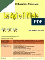 Le API e Il Miele Classi 2A e 2C