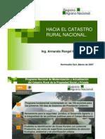 Hacia Catastro Rural