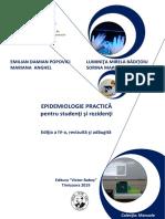Epidemiologie carte de lucrari practice