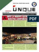Yunque nº 26 octubre 2019. Órgano de Expresión de la Sección Sindical del S.A.T. en Navantia San Fernando. La Carraca-S.F
