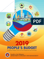 2019 Peoples Budget