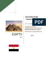 Egipto Avance Primer Parcial