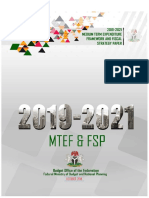 2019-2021 Mtef _ Fsp Updated
